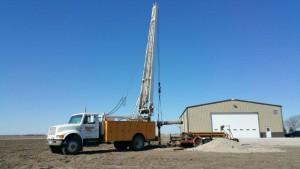 irrigation service rig
